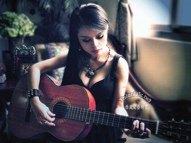 Taipei Life Art Music Guitar Gothic Girl Romanticism 台北生活 音乐艺术 吉他 哥特女子 浪漫主义 Yalan雅岚文艺博客